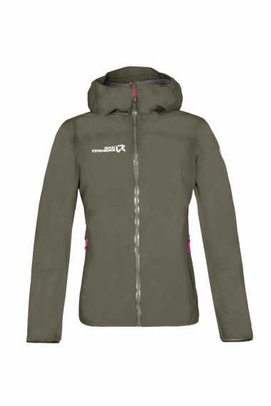 Rock Experience Colossus Woman Jacket Olive